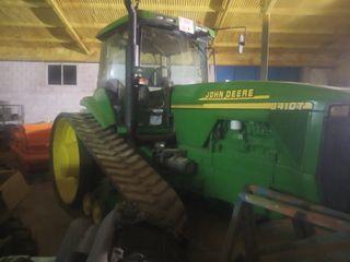 tractor cadenas John Deere 8410t