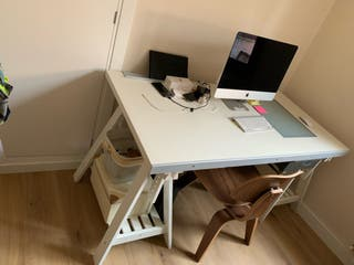 Mesa escritorio de dibujo