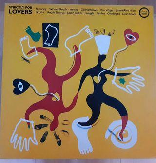 vinilo reggae recopilatorio - Strictly for Lovers