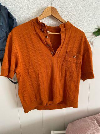 Camiseta vintage naranja