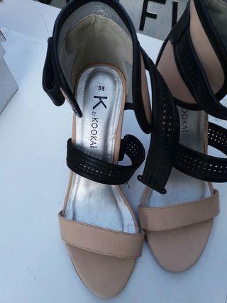 Sandalias Mujer de Tacón
