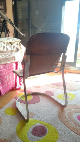 silla de diseño en cuero