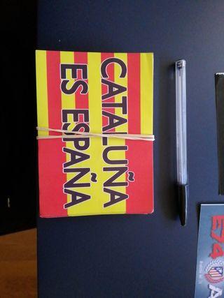 lote 50 Pegatinas CATALUÑA ES ESPAÑA
