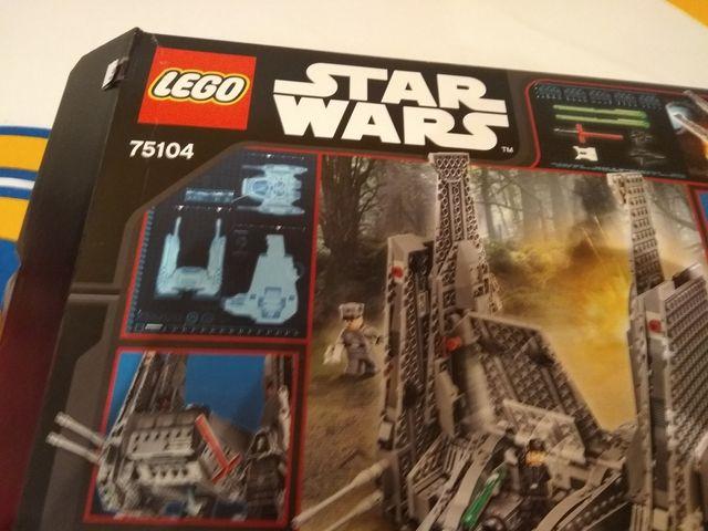 Lego Star wars 74104. seminuevo