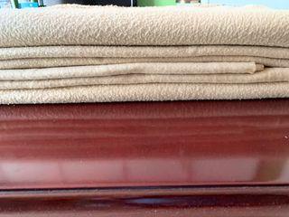 Juego de 4 mantas para sillones, sofás MUY SUAVES