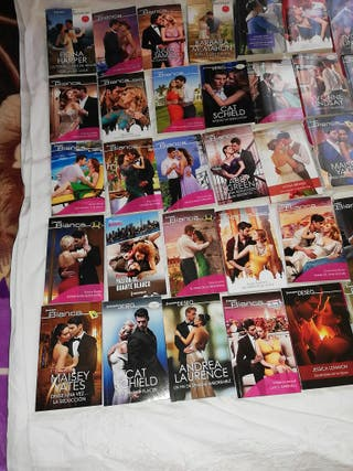 lote de 44 novelas