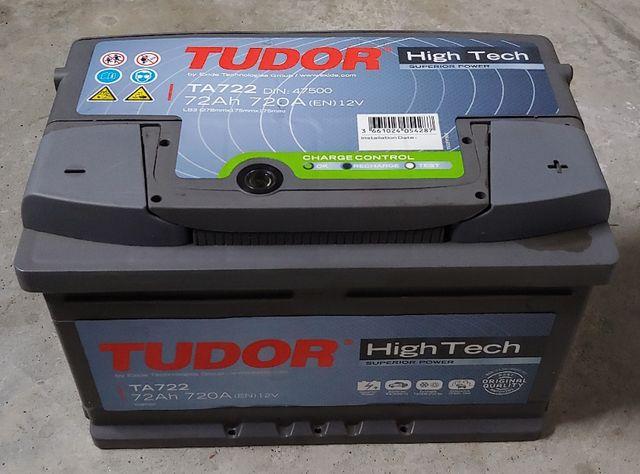 Bateria Tudor Ta722 High Tech 72Ah 720A