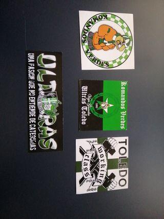 pegatinas ultras komandos verdes