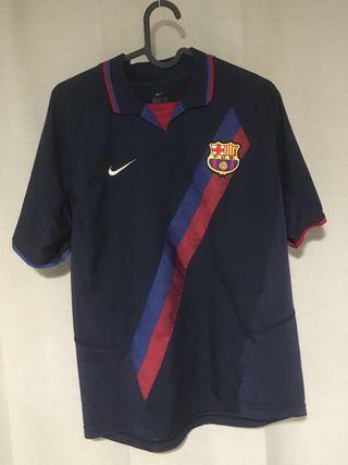 Camiseta del Barça vintage