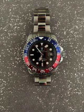 GMT azul y rojo