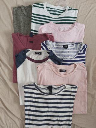 8 camisetas