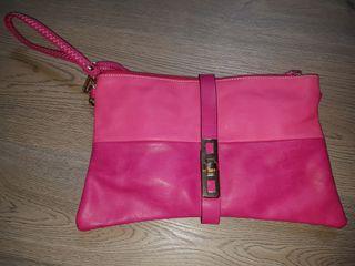 bolso rosa para colgar