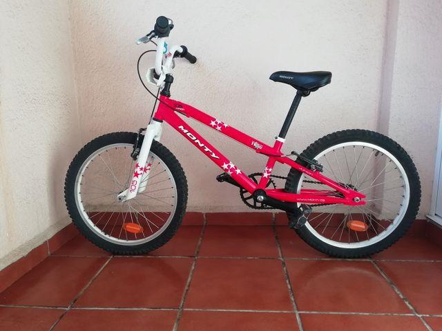 Bicicleta Monty 105 junior