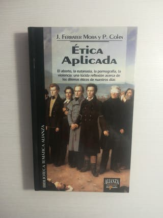 """Libro """"Ética aplicada"""""""