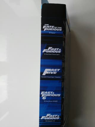Coches Hot Wheels Fast and Furious nuevos