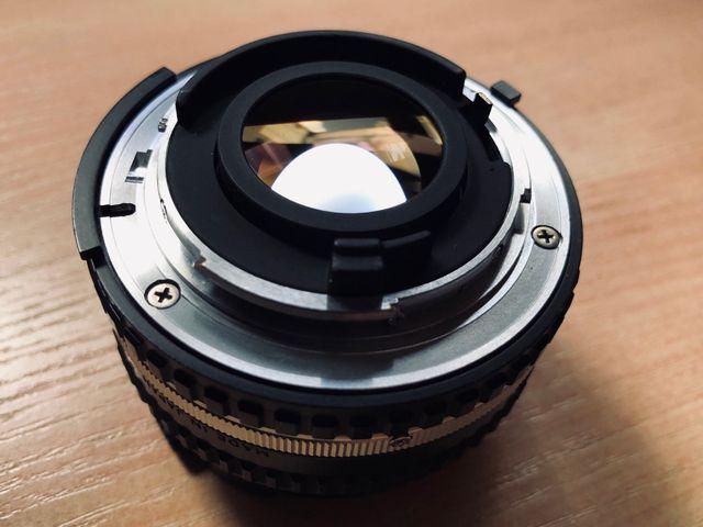 Objetivo Nikon 50mm f/1.8 Series E Réflex Mirror