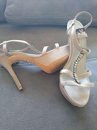 Sandalias de tacón alto talla 41