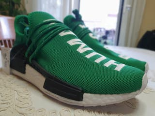 Adidas Human Race x Pharrell Williams Green ed.