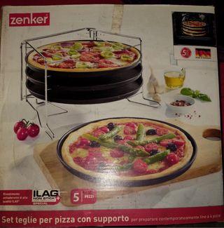 Set moldes Pizza
