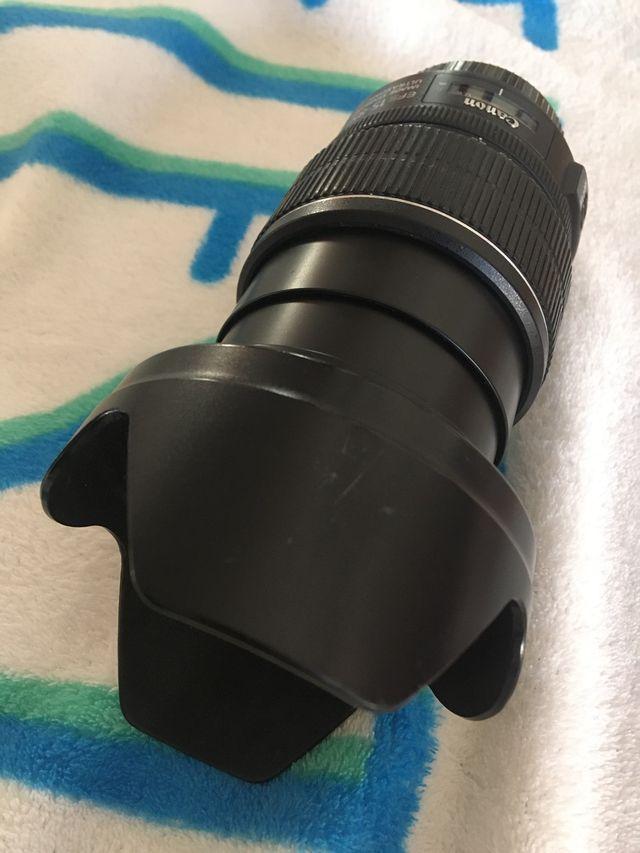 Objetivo Canon 15-85mm gran angular