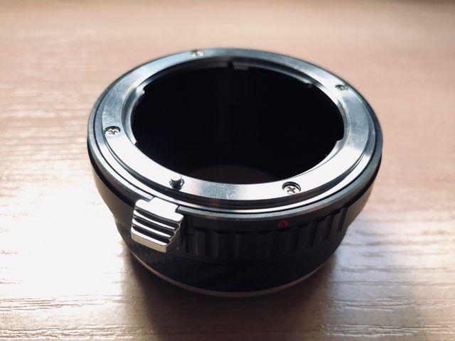 Adaptador Objetivo Nikon a Fujifilm X Camaras