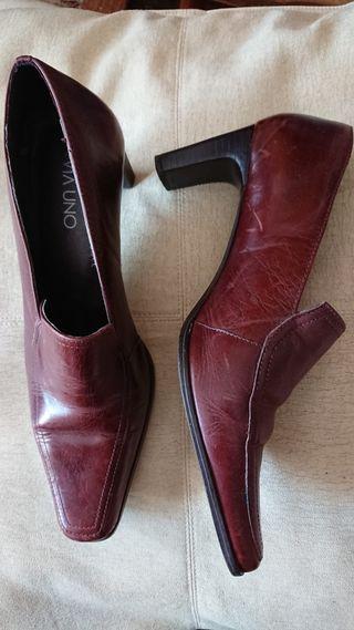 vendo zapatos cuero
