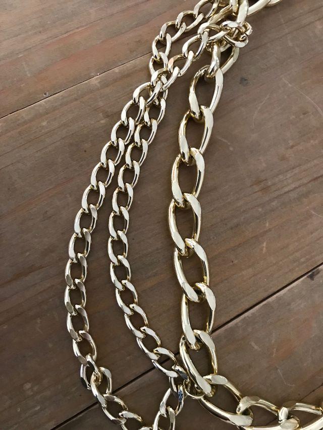 Collar tipo Versace - cinturón nuevo