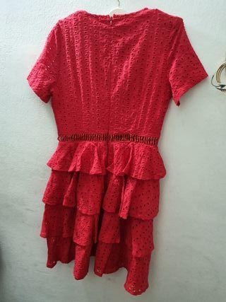 Vestido rojo prettylittlething