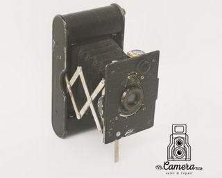 cámara antigua de fuelle kodak pocket