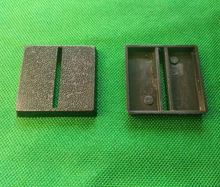Peana base Warhammer 2.5x2.5 cms ranura horizontal