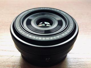 Objetivo XF 27mm 2.8 Fujifilm Cámaras Mirror