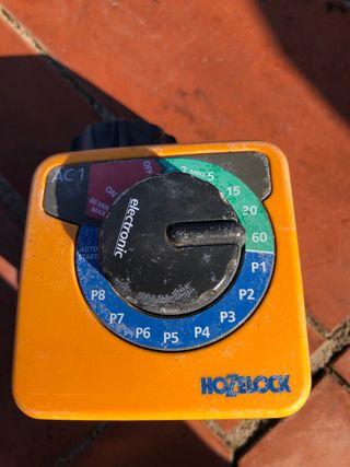 Temporizador Hozelock riego automático