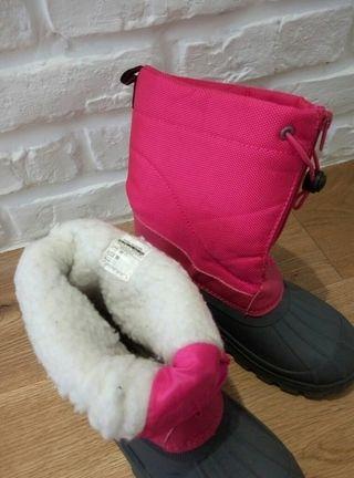 Botas de nieve niña talla 34