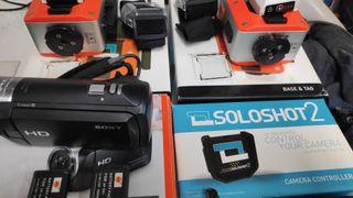 Dos soloshot2 + 2Tag+cámara sony