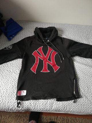 sudadera New York Yankees verdadera