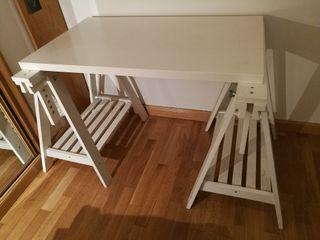 Tablero + caballetes mesa