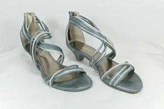 Sandalias de vestir LODI piel silver talla 38 EU