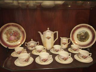 juego café y soperas antiguas