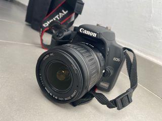 Cámara canon EOS 1000D + objetivo Sigma DG 70-300