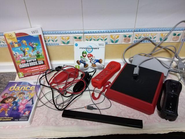 consola Wii+juegos