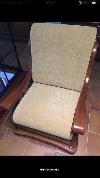 Sofa de madera rustica de calidad
