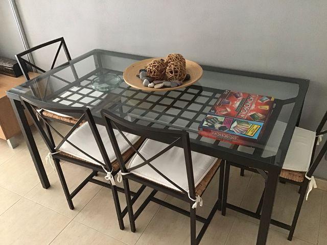 Mesa de Comedor + Mesa de Centro
