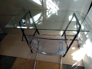Mesa escritorio + silla