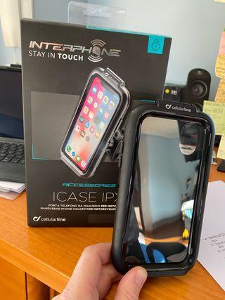 Soporte IPhone X moto celular line