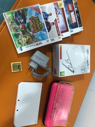 NINTENDO 3DS XL BLANCO