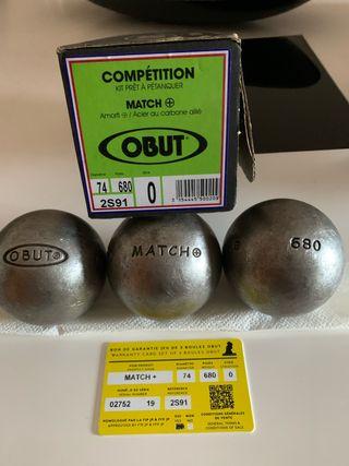 Obut mach plus 74 y 680 carbono blandas