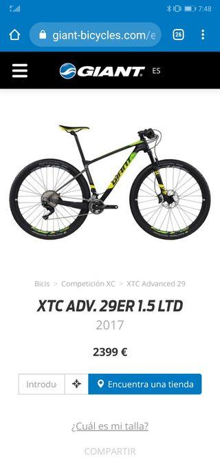 Giant XTC ADVANCED 1.5