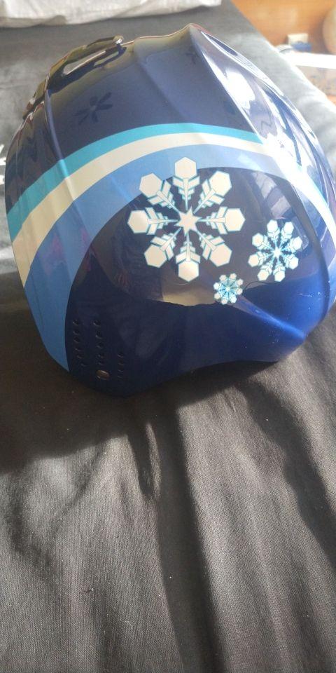 casco nieve niño