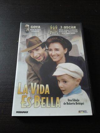 la vida es bella en dvd