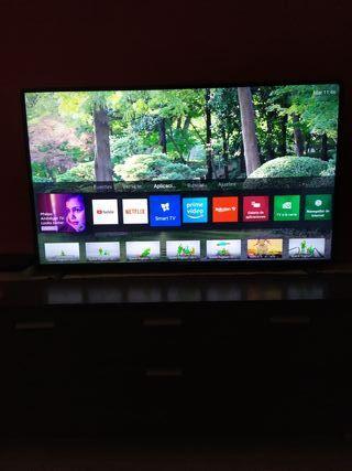 """philips 50"""" 4K smart tv"""
